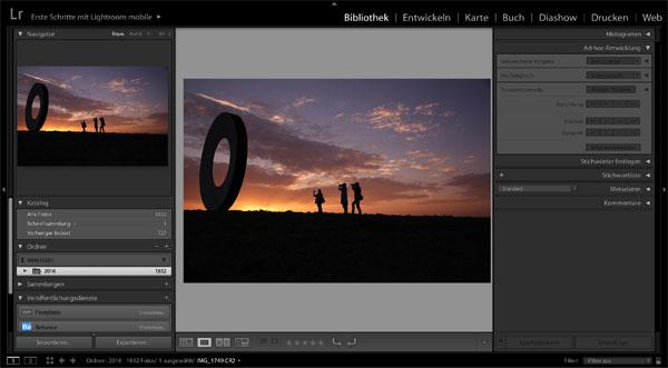 AMESCADA-Fotoschule Fotokurs Adobe Lightroom für Einsteiger Mannheim